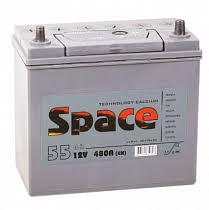 Аккумулятор <b>Space</b> Азия 55Ah о/п | Купить в Кемерово по низкой ...