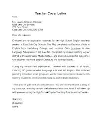 Tutor Cover Letter Instructor Cover Letter Sample Penza Poisk