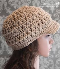 Crochet Newsboy Hat Pattern Fascinating Crochet PATTERN Cabled Crochet Newsboy Hat Pattern
