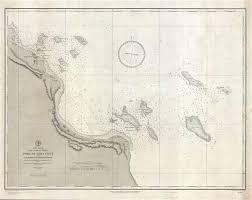 Us Navy Nautical Charts Port Of Vera Cruz And Anchorage Of Anton Lizardo