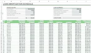 Template Loan Repayment Schedule Template