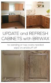 Update And Refresh Cabinets With Briwax Inbetweenchaoscom Home