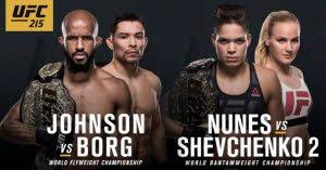 Image result for ufc 215