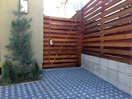 horizontal fence styles. Beautify The Minimalist Living With Horizontal Wood Fence Designs Pictures Pinterest Styles
