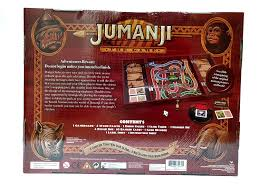 Jumanji Wooden Board Game Amazon Jumanji The Game In Real Wooden Box Toys Games 21
