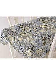 <b>Скатерть ALBA</b> Мозаика син. 120х140 см (шт.) <b>Protec Textil</b> ...