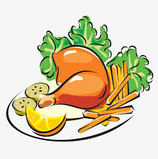 plate of food with chicken clipart. Fine Chicken Hand Painted Plate Inside The Chicken Plate Clipart Chicken  Legs PNG On Of Food With Clipart