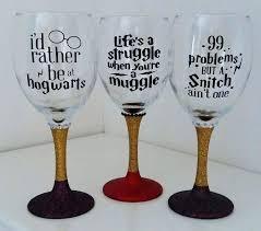 wine glass candle holder wine glass harry potter muggles glitter wine glass snowman wine glass candle wine glass candle holder
