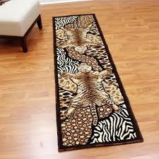 brown runner rug animal skin design tan brown runner rug teal and brown runner rug black