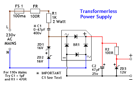 tps gif transformerless power supply