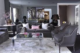 Gray Living Room Interesting Decoration