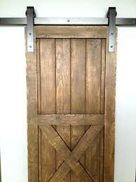 barn style sliding doors interior door bottom guide hardware closet installation