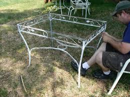 vintage wrought iron garden furniture. vintage wrought iron patio set reveal garden furniture