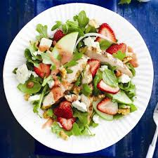 grilled chicken salad with strawberries. Exellent Grilled Grilled Chicken And Strawberry Salad And Chicken Salad With Strawberries T