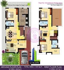 1197 sq ft 3 bedroom villa in 3 cents