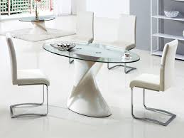 small oval kitchen table