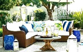pottery barn patio furniture wonderful outdoor covers west elm replacement cushions seagrass chair replacem
