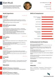 How To Do A Cover Page For A Resume This resume for Elon Musk proves you never ever need to use more 100
