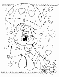 Small Picture Coloring Pages Printable My Little Pony Coloring Pages