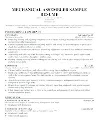 Stylish Design Assembly Line Resume This Is Assembly Line Worker