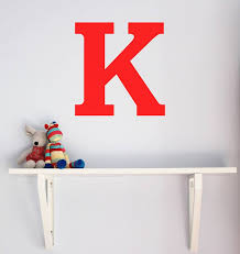 large letter wall sticker little chip notonthehighstreet intended for wall decals letters prepare cute wall decal letters