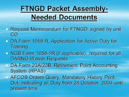 Da Form 5500 Chart Full Time National Guard Duty Ftngd Packet Training Ppt