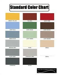 Tnemec Color Chart Roc City Flooring Group Llc Epoxy Standard Color Chart