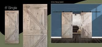 double z panel rustic antique white oak wood single door