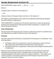 Below, we cover what an employment contract is, why they're important and how to write one — with an employment agreement template you can use as a guide. Australian Employment Contract Template Free Template Tips