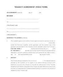 Basic Rental Agreement Template Basic Lease Template