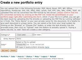 Research Portfolio Template Help Documentation