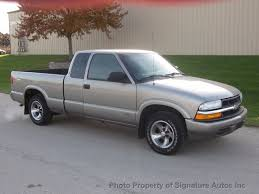 2001 Used Chevrolet S-10 Ext Cab 123