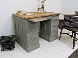 vintage office table. Antique Victorian Painted Oak Office Desk - Actually Like This Idea Of As A Dressing Vintage Table H