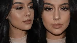 glam makeup tutorial golden eyes makeup
