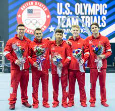 Olympic team roster for artistic gymnastics
