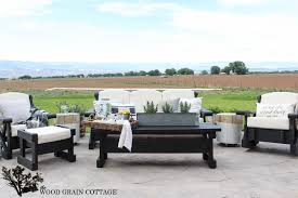 makeover furniture. Outdoor Patio Furniture Makeover. By The Wood Grain Cottage Makeover T