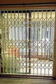 patio door security lattice gate