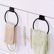 Bath towel hanger Space Saving Image Unavailable Amazoncom Amazoncom Round Over Door Towel Hanger Hook Towel Drying Rack Bath