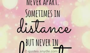 Long Distance Good Morning Quotes