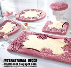pink bath rug set stylish pink bathroom rugs and rug sets pink bath rug sets hot pink bath rug