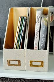 White Magazine Holders Gold White Console Table Furniture Makeover Monica Wants It 93