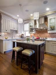 Modern Kitchen Backsplash modern brick backsplash kitchen ideas 4625 by uwakikaiketsu.us