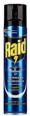 """<b>Аэрозоль</b> от летающих <b>насекомых</b> """"<b>Raid</b>"""", 300 мл — купить в ..."""