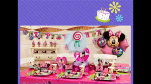 prissy design 1st birthday party decorations at home interesting