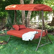 3 person patio swing deck swings with canopy hampton bay 3 person futon patio swing replacement