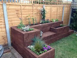 terrace fabulous tiered raised garden beds