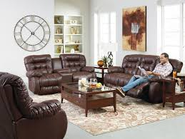 Home Furnishings Best Home Furnishings Plusher Space Saver Reclining Sofa Wayside