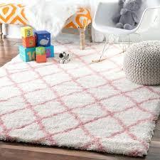 pink nursery rug baby pink soft and plush cloudy trellis kids nursery area rug 6 pink nursery rug