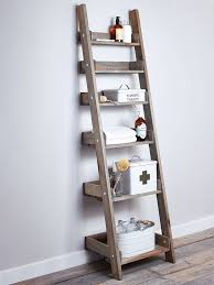 Add This Bathroom Ladder Shelf More