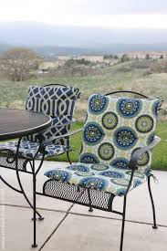 random 2 recovering patio chair cushions